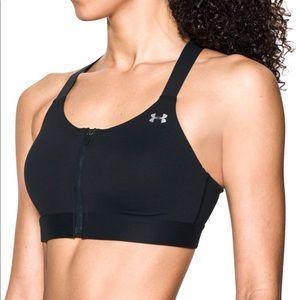Under Armour Women's Eclipse Zip Front Sports Bra